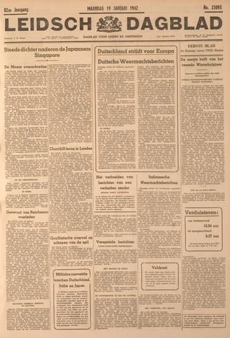 Leidsch Dagblad 1942-01-19