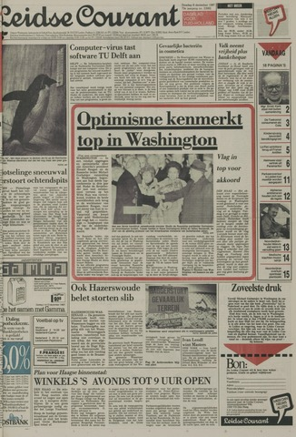 Leidse Courant 1987-12-08