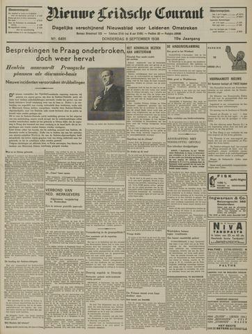 Nieuwe Leidsche Courant 1938-09-08