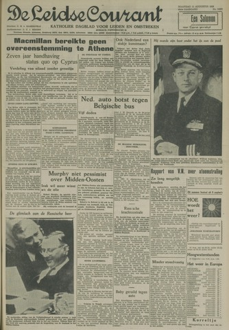 Leidse Courant 1958-08-11