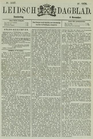 Leidsch Dagblad 1876-11-09