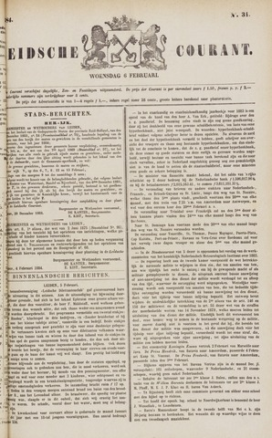 Leydse Courant 1884-02-06