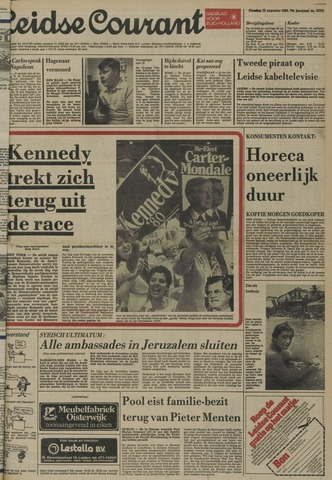 Leidse Courant 1980-08-12