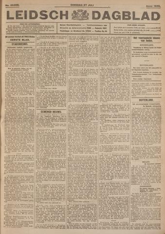 Leidsch Dagblad 1926-07-27