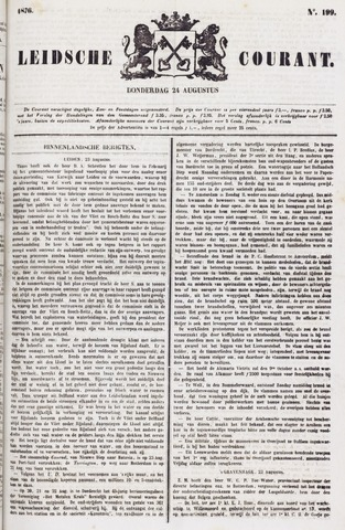 Leydse Courant 1876-08-24
