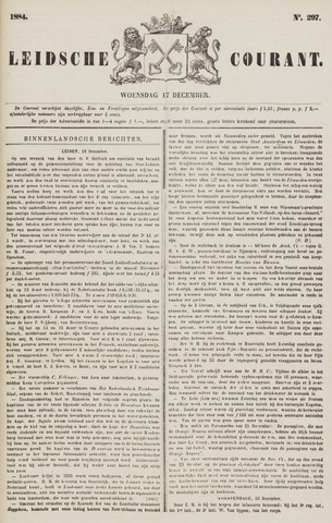 Leydse Courant 1884-12-17