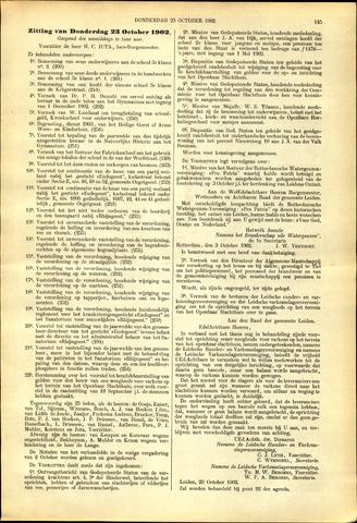 Handelingen van de Raad 1902-10-23
