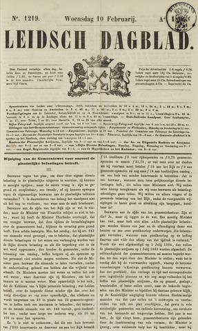 Leidsch Dagblad 1864-02-10