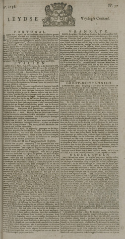 Leydse Courant 1736-05-11