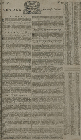 Leydse Courant 1748-04-22