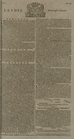 Leydse Courant 1725-08-27