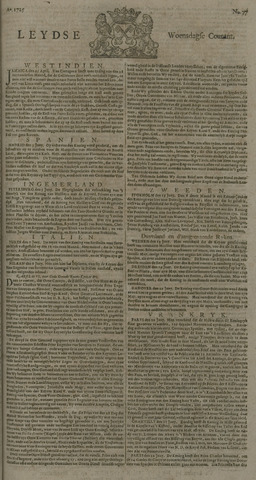 Leydse Courant 1725-06-27