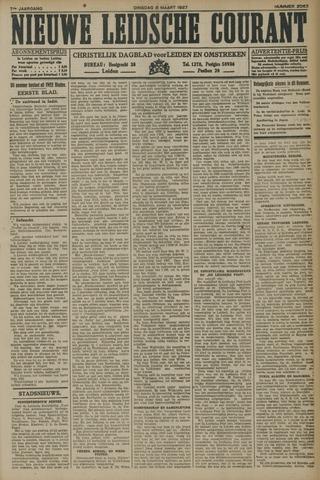 Nieuwe Leidsche Courant 1927-03-08