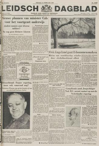 Leidsch Dagblad 1955-02-18