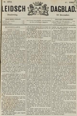 Leidsch Dagblad 1868-12-10