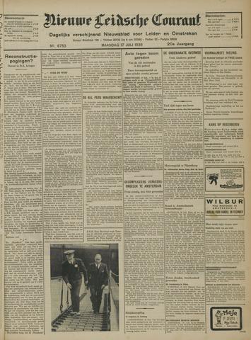 Nieuwe Leidsche Courant 1939-07-17