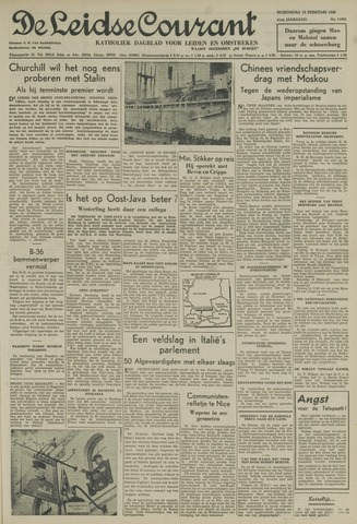 Leidse Courant 1950-02-15
