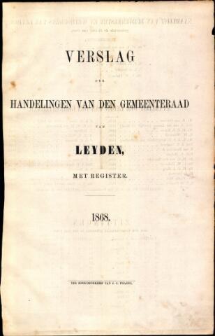 Handelingen van de Raad 1868-01-01