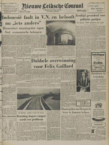 Nieuwe Leidsche Courant 1957-11-30