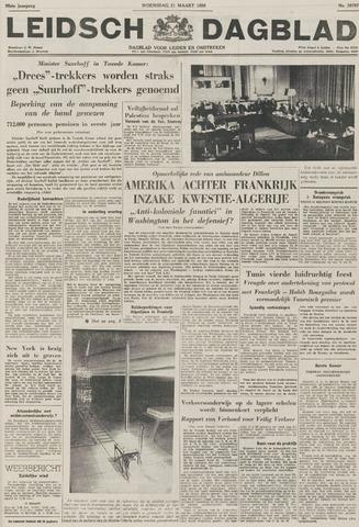 Leidsch Dagblad 1956-03-21