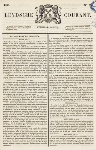 Leydse Courant 1846-06-24