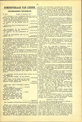 Handelingen van de Raad 1931-08-14