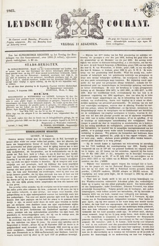 Leydse Courant 1865-08-11