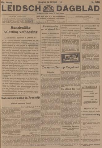 Leidsch Dagblad 1940-12-16