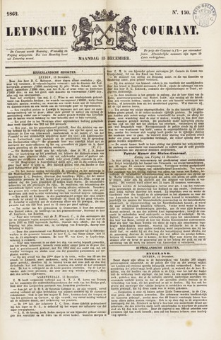 Leydse Courant 1862-12-15