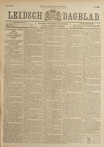 Leidsch Dagblad 1899-11-01