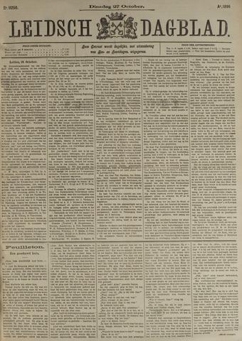 Leidsch Dagblad 1896-10-27