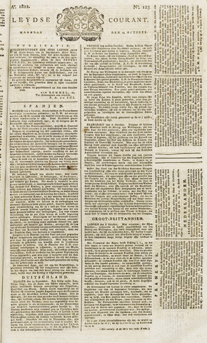 Leydse Courant 1822-10-14