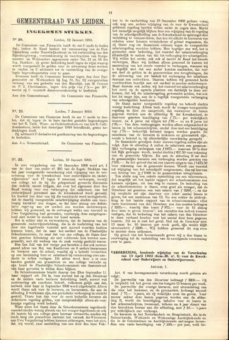 Handelingen van de Raad 1910-01-12