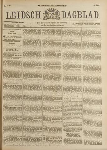 Leidsch Dagblad 1899-11-22