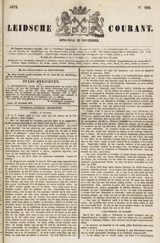 Leydse Courant 1872-11-26