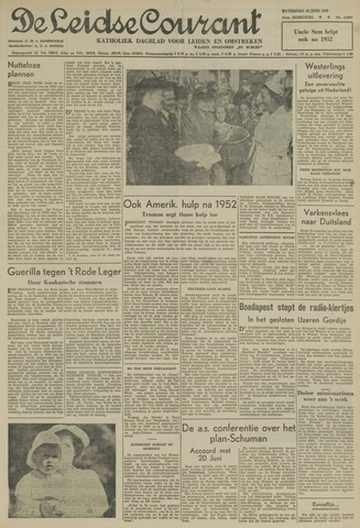 Leidse Courant 1950-06-10