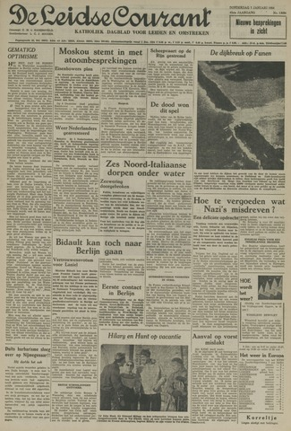 Leidse Courant 1954-01-07