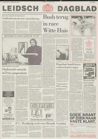 Leidsch Dagblad 1988-02-17