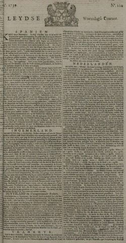 Leydse Courant 1739-10-07