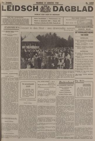 Leidsch Dagblad 1938-08-22