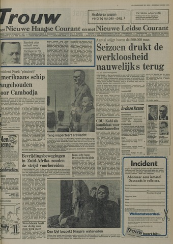 Nieuwe Leidsche Courant 1975-05-13