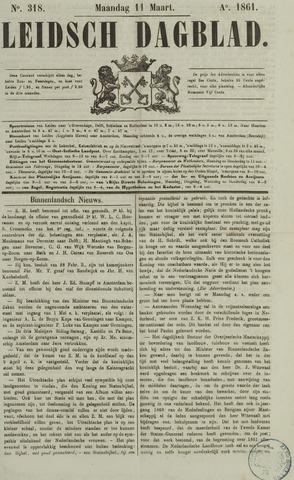 Leidsch Dagblad 1861-03-11