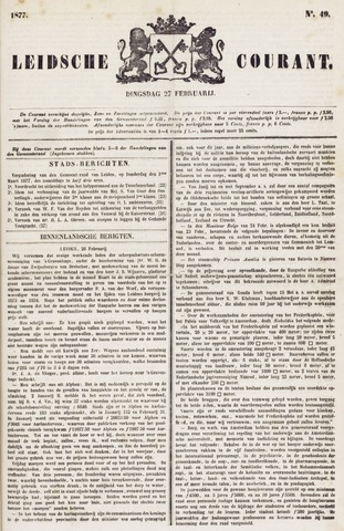 Leydse Courant 1877-02-27