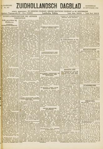 Zuidhollandsch Dagblad 1944-09-28