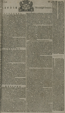 Leydse Courant 1749-01-08
