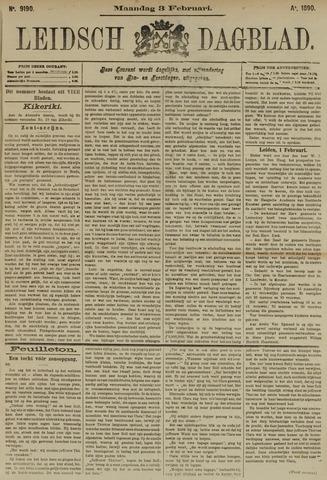 Leidsch Dagblad 1890-02-03