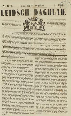 Leidsch Dagblad 1863-08-18