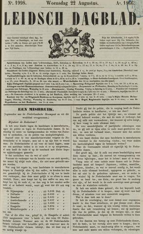 Leidsch Dagblad 1866-08-22