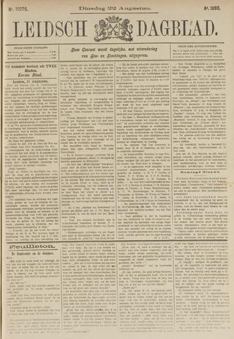 Leidsch Dagblad 1893-08-22