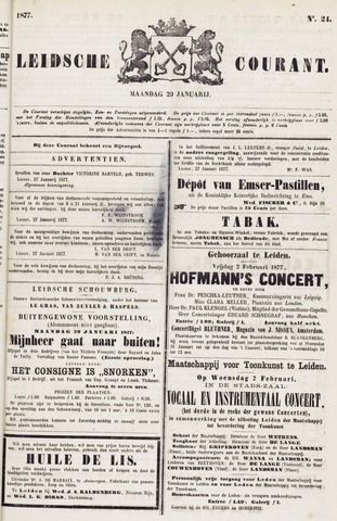 Leydse Courant 1877-01-29